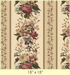 Country French 100% cotton fabric