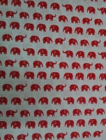 Elephants 100% cotton fabric Collection