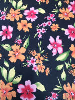 Flowers 100% cotton fabric Collection