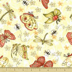 Garden Gifts 100% cotton fabric Collection