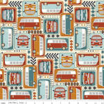 Keep On Groovin' 100% cotton fabric Collection