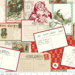Postcards For Santa 100% cotton fabric Collection