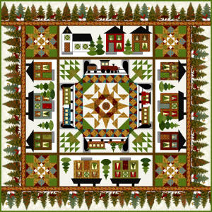 Go To Quilt and other Kits at The Village Patch